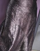 Idealnie skrojona złota spódnica L XL...