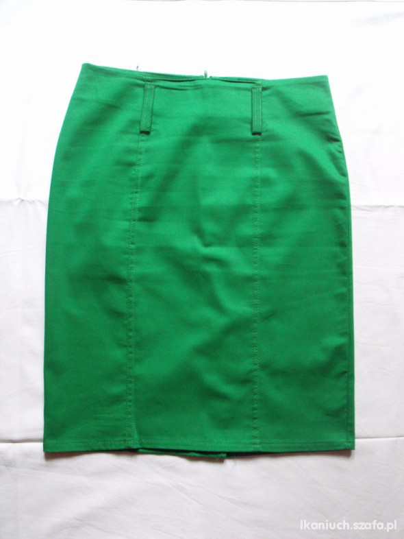 Spódnice Fajna zielona spódnica ołówkowa