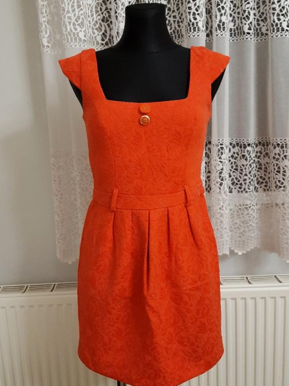 Suknie i sukienki czerwona sukienka River Island