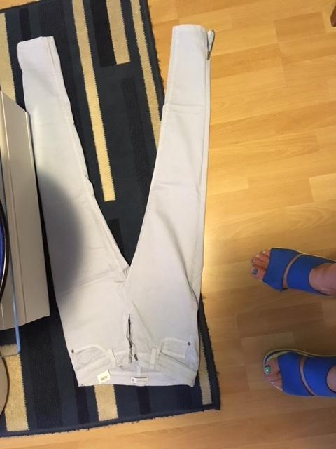 Nowe Błękitne spodnie ZARA 34 bez kosztów wysyłki