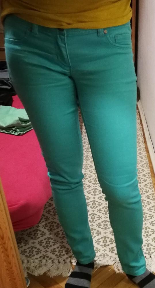 Spodnie Zielone spodnie