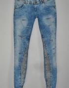 poszukiwane jeansy bershka zip s...