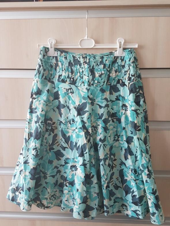 spódnica zielonogranatowa