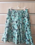 spódnica zielonogranatowa...