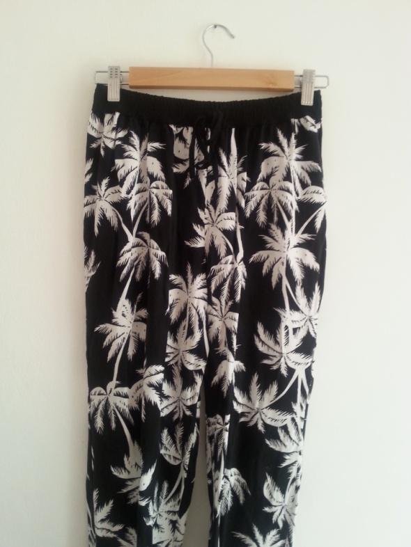 spodnie w palmy