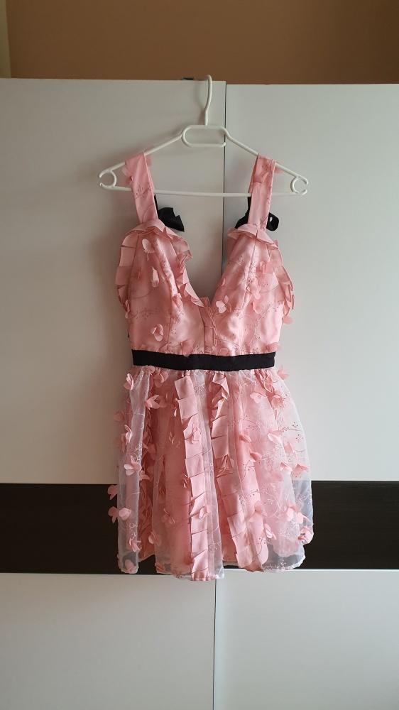 Nowa śliczna sukienka ASOS wycięte plecy S