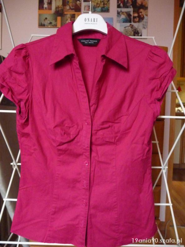 Amarantowa bluzka Dorothy Perkins...