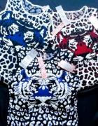 sweterkowe sukienki jak KENZO XS S z Londynu...