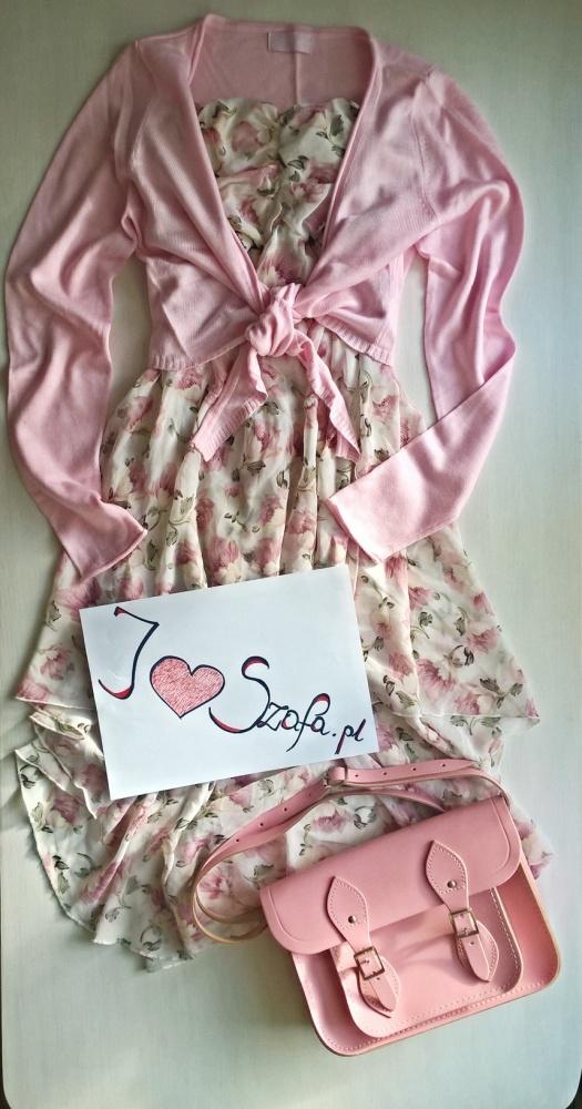 Różowo pudrowo...