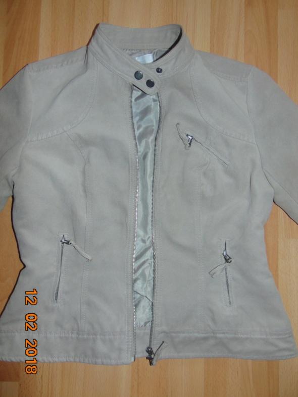 Odzież wierzchnia Sztruksowa ramoneska pilotka kurtka