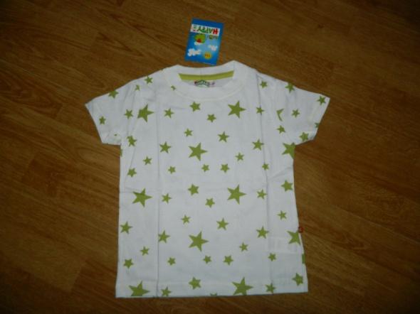 Koszulki, podkoszulki HAPPY KIDS koszulka w gwiazdki roz 104