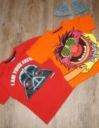 Bluzeczka koszulka zestaw Zwierzak Angry Birds Star Wars rozm 1...