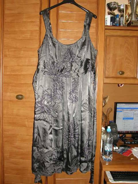 F&F okazjonalna sukienka dla puszystej 46...