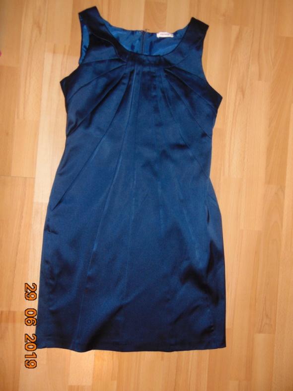 Suknie i sukienki Granatowa sukienka