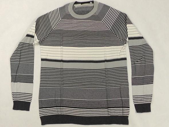 Swetry sweter meski w paski rozm L