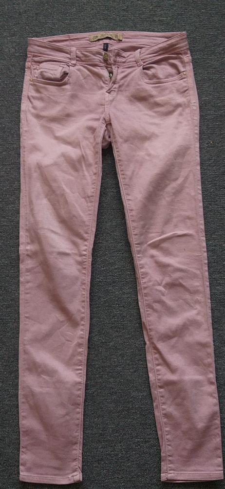 Spodnie ZARA Slim S...