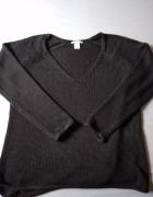 Brązowy sweter H&M...