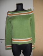 Zmysłowy sweter sweterek unikat saix