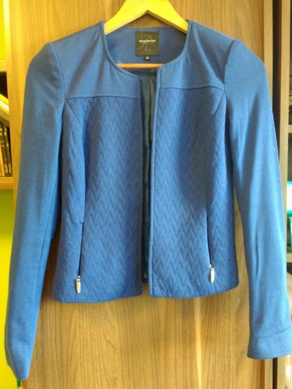 Żakiet niebieski Reserved 34 XS