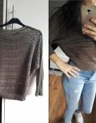 azurowy sweterek...