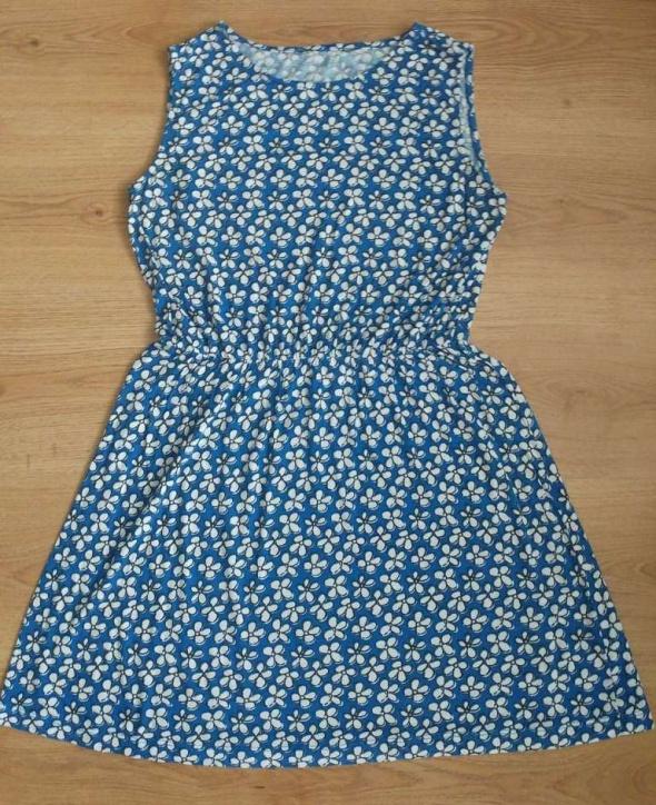 Tunika kwiaty niebieska F&F 12 40...