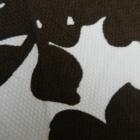 Spódnica wzór kwiaty biało brązowa H&M L 40