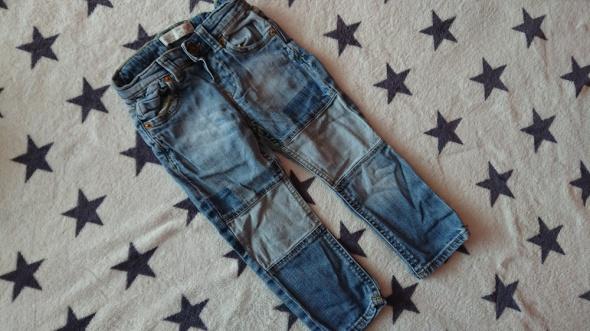 Spodnie i spodenki jeansowe spodnie ZARA 92