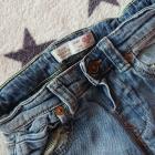 jeansowe spodnie ZARA 92