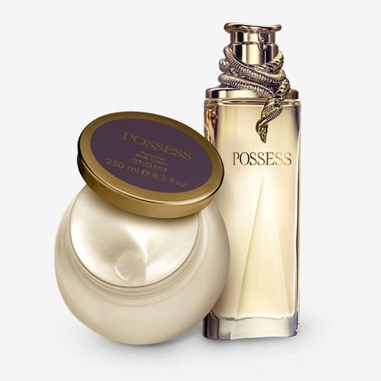 Nowy zestaw Oriflame Possess woda perfumowana balsam do ciała p...
