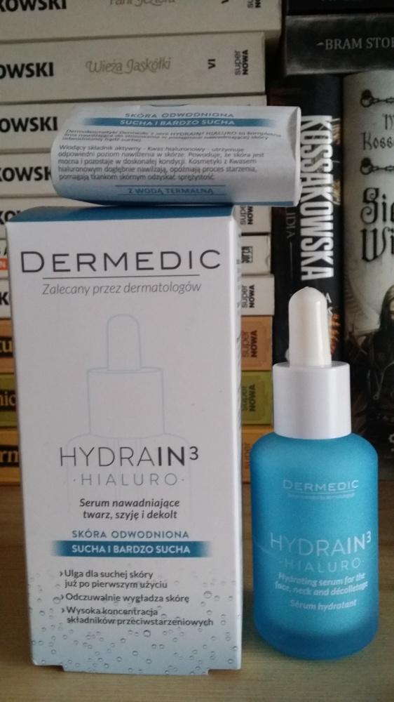 Dermedic Hydrain 3 serum nawadniające 30 ml nowe