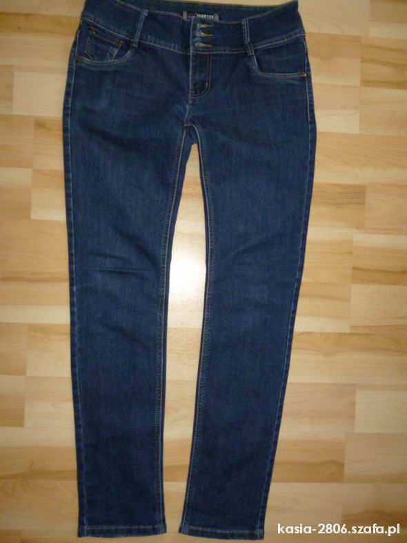 Spodnie jeansy rurki L