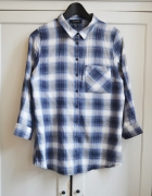 Koszula oversize krata kratka L XL 40 42...