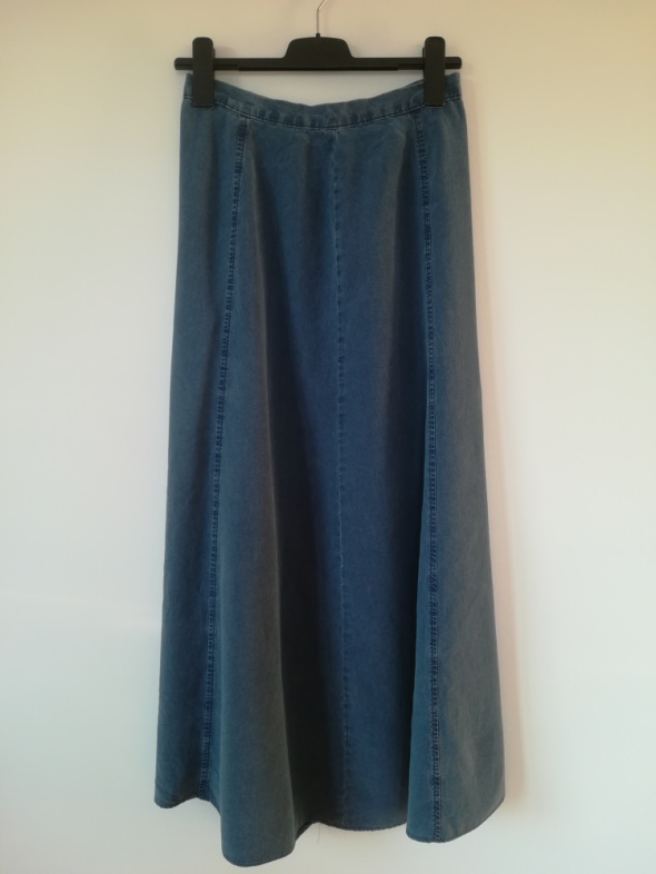 Spódnica jeans maxi XL