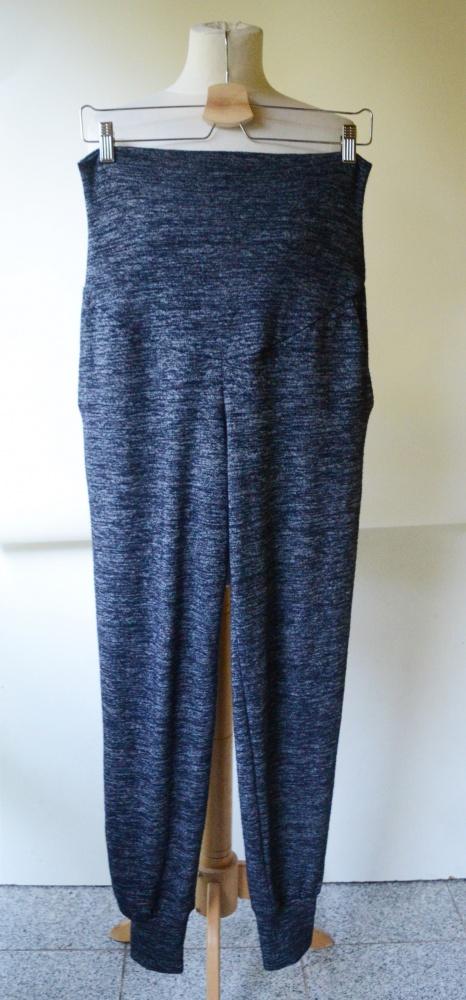 Dresy Spodnie Dresowe Melanż H&M Mama S 36 Ciążowe...