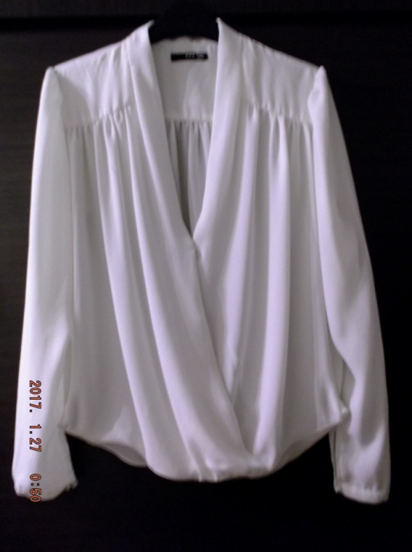 TFNC Koszula mgiełka z kopertowym przodem L...