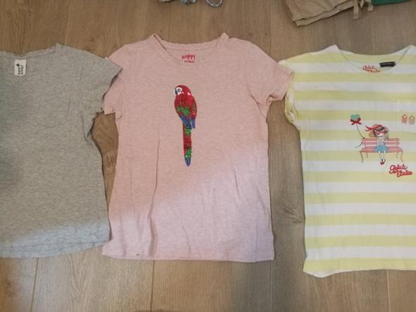 Zestaw 5 firmowych bluzeczek 140 Zara Tchibo C&A Olivier...