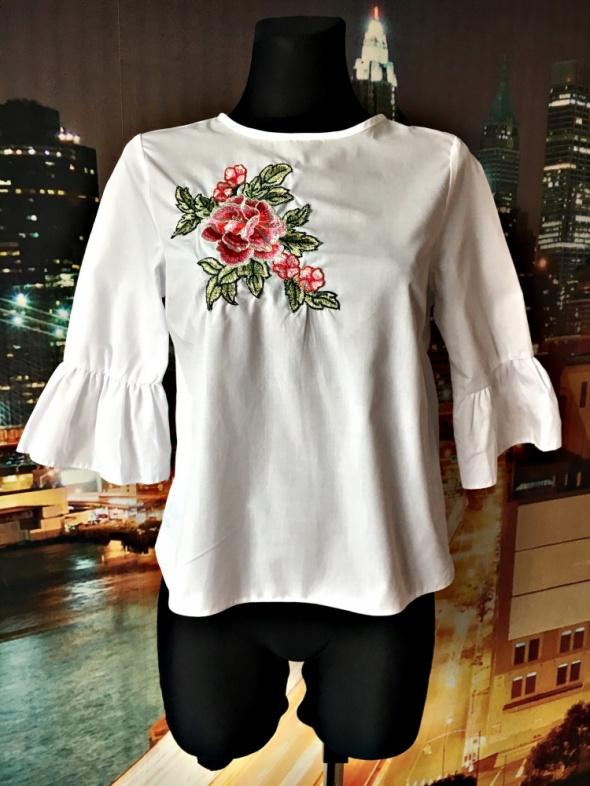 atmosphere bluzka modny haft kwiaty jak nowa hit blog 36 S...