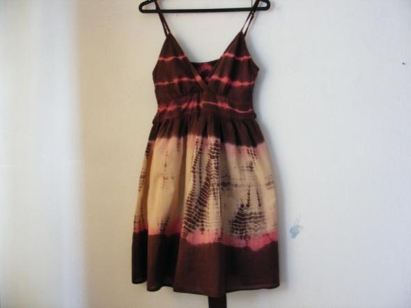 Sukienka letnia na ramiączkach rozmiar M L