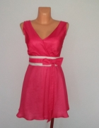 Elegancka tiulowa sukienka S...