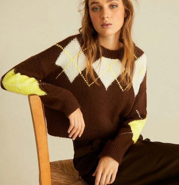 Swetry stradivarius modny sweter stan idealny