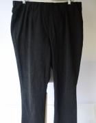 Spodnie Czarne Tregginsy Bonprix 48 4XL Rurki Bawełna BPC...