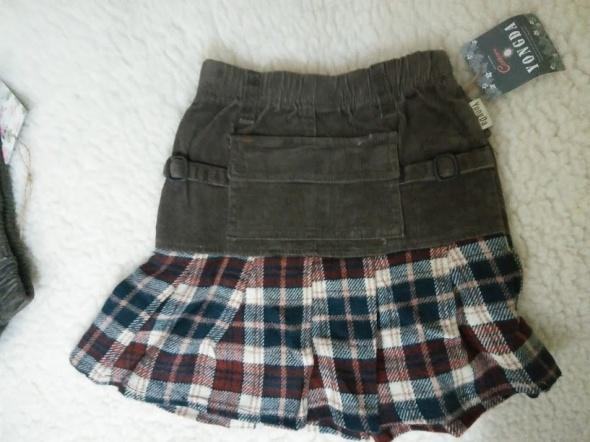 Sukienki i spódniczki Spódniczka kolorowa sztruks