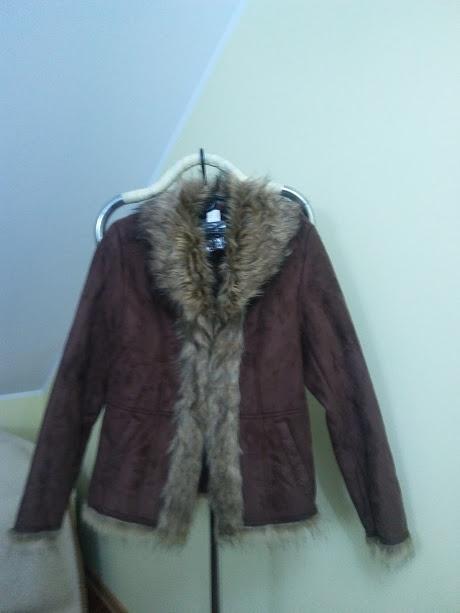 Odzież wierzchnia kożuszek krótki kurtka ciepła