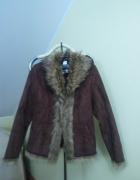 kożuszek krótki kurtka ciepła...