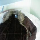 kożuszek krótki kurtka ciepła