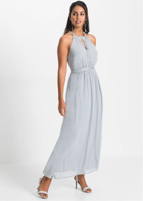 Sukienka z dekoltem halter