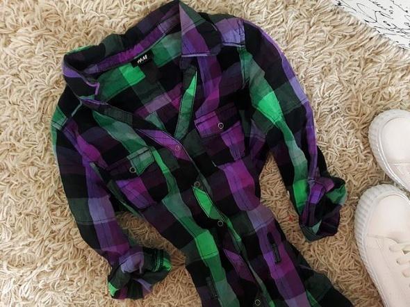 H&M cudna koszula KRATA s