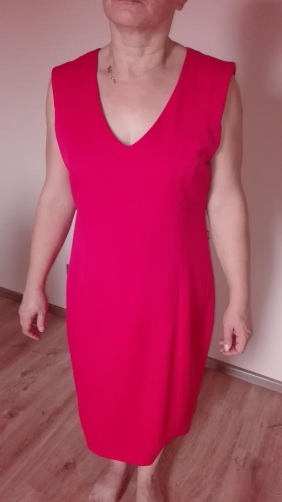 Śliczna sukienka czerwona 44