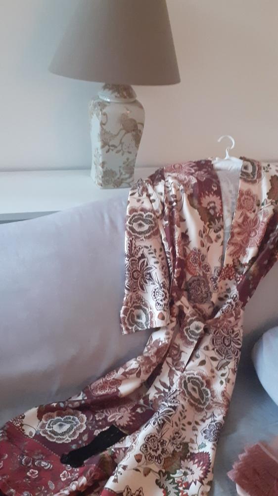 letni płaszcz szlafrok