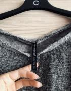 Krótki sweter Stradivarius szary piękny 36 dobra jakość ciepły ...